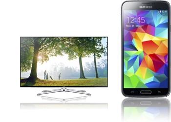 48 3D-LED-TV Samsung + Samsung Galaxy S5 G900F
