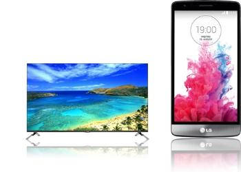 55 3D-LED-TV LG + LG G3 S D722