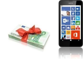 Bargeld + Nokia Lumia 635