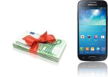 Bargeld + Samsung Galaxy S4 mini I9195