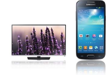 Galaxy s4 Mini und TV