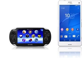 Sony PlayStation Vita + Sony Xperia Z3 compact