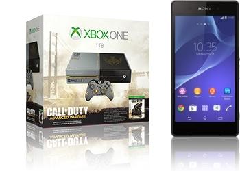 Xbox One 1TB CoD AW + Sony Xperia Z2
