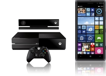 Xbox One inkl. Kinect + Nokia Lumia 830